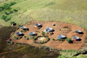 Rural Zulu Village Eshowe Zululand