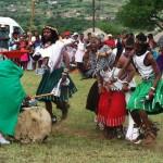 Sangomas Dancing