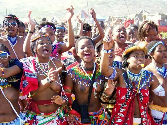 Opinion you Zulu reed dance girls