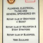 ECAG Rotary Donations Board