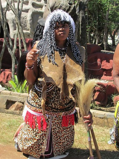 Sangoma at Ceremony