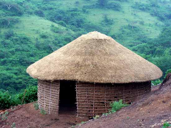 Zulu Hut At The Sangoma Village Eshowe