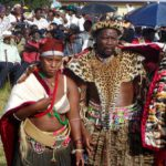 Zulu Wedding couple